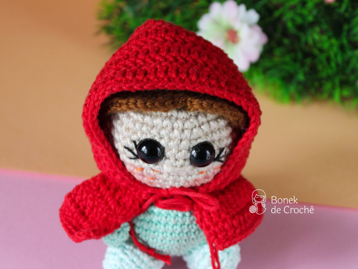 Little Red Riding Hood crochet Doll