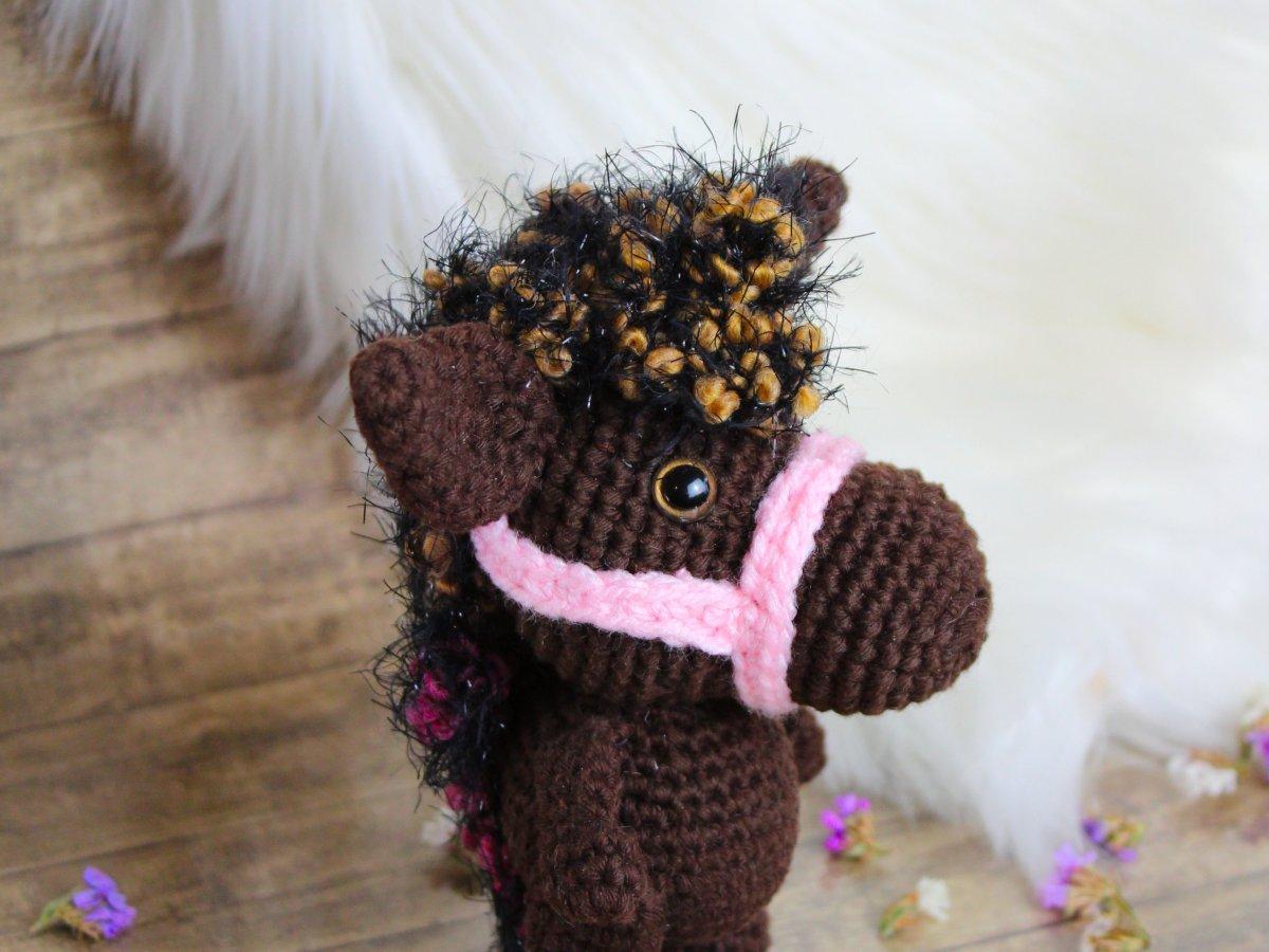Pony the crochet horse
