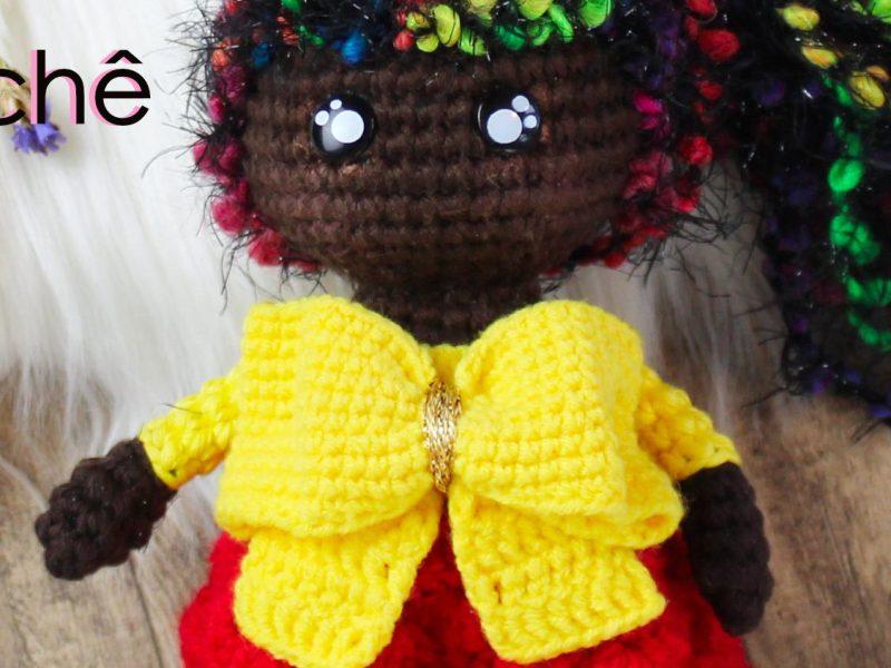 Laço de Crochê - Laço para Bonecas e Orixás